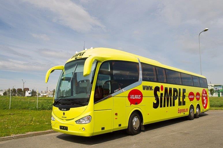 Simple Express Busunternehmen Bei Busliniensuchede