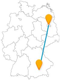 Mit dem Fernbus von Berlin nach München fahren