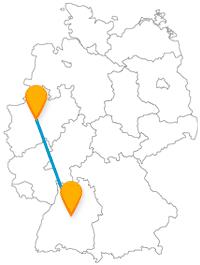 Fahren Sie Fernbus von Stuttgart nach Dortmund