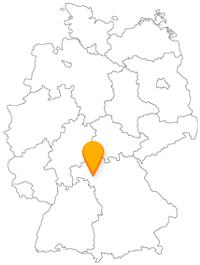 Beim Fernbus in Würzburg einsteigen