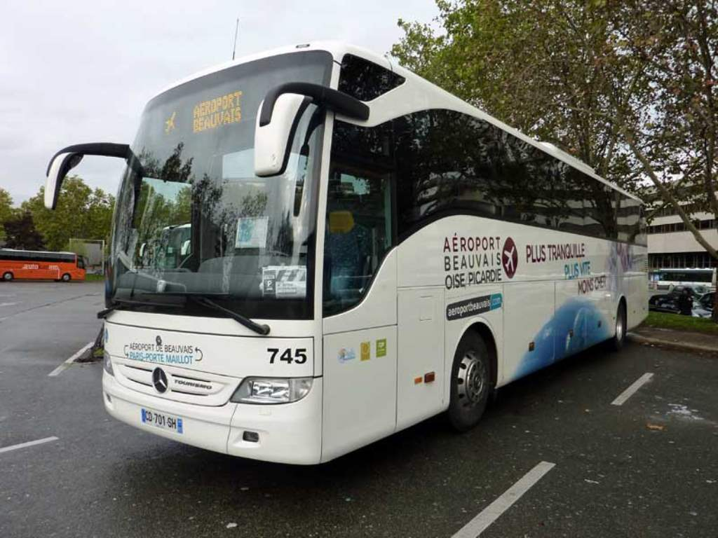 Paris-Beauvais Shuttle Bus companies on busradar.com