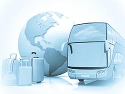 Viaggiare in autobus con grandi bagagli