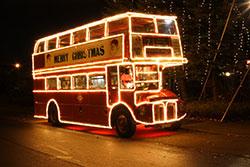 Bus pour marche de noel