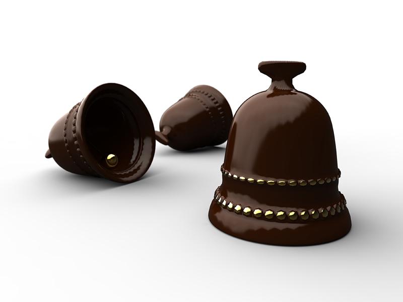 Oster-Glocken aus Schokolade sind nicht nur als Osterschmankerl lecker.