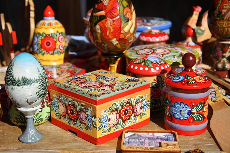 Kunsthandwerk für Ostern