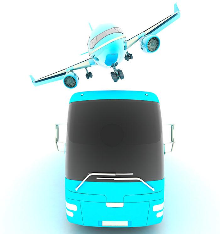 Come acquistare un biglietto del bus per l'aeroporto