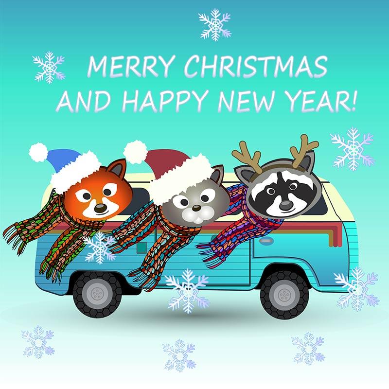 Buon Natale e buon viaggio in autobus da Busradar