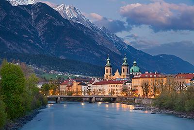 Stadt Innsbruck als mögliches Urlaubsziel