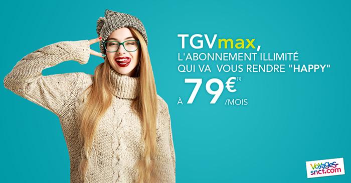 Voyager en France pas cher - Carte TGVmax