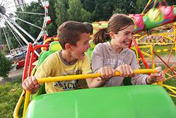 Viaggio in autobus attraverso i parchi divertimento di tutta Italia
