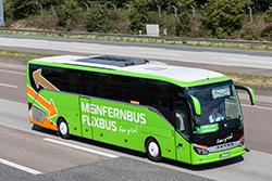 Aвтобус Flixbus и MeinFernBus