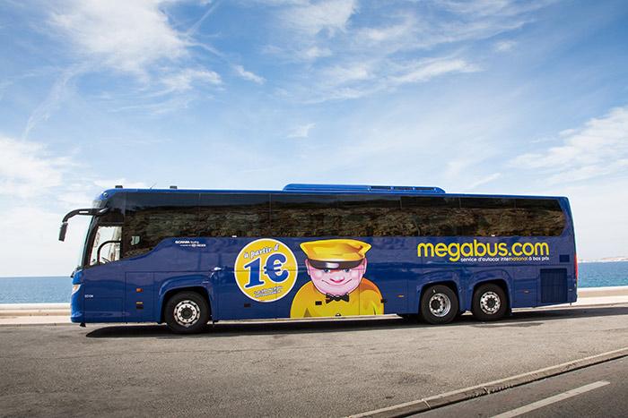 Lassen Sie sich die 1 Euro Tickets von megabus.com nicht entgehen.