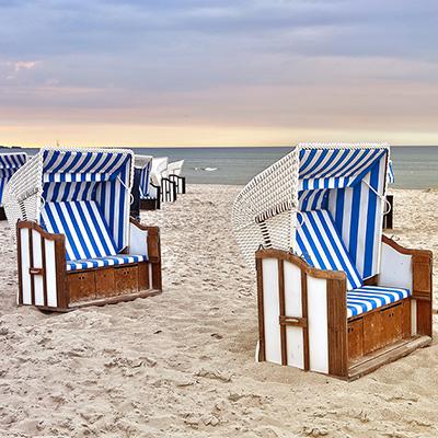 Leere Strandkörbe in diesem Sommer?