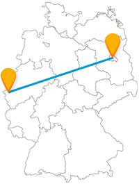 Mit dem Fernbus von Aachen nach Berlin erleben Sie imposante und hohe Sehenswürdigkeiten.