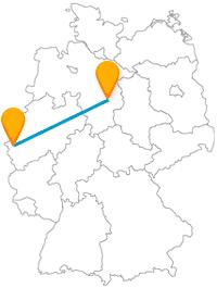 Ob auf einer geführten Route oder auf eigene Faust, nach der Fahrt mit dem Fernbus zwischen Aachen und Braunschweig werden Sie einiges entdecken.