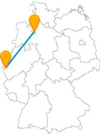 Reisen Sie mit einem Fernbus zwischen Aachen und Bremen verbinden Sie abwechslungsreiche Attraktionen auf komfortable Art.