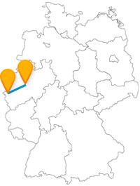 Die Reise mit dem Fernbus von Aachen nach Dortmund muss nicht heilig werden, auch wenn Sie sehr wahrscheinlich an heilige Orte kommen werden.