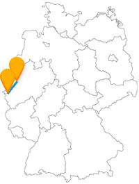 Fühlen Sie sich während und nach der Fernbusreise von Aachen nach Duisburg ein bisschen wie ein König.
