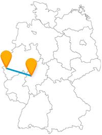 Entdecken Sie nach der Fahrt im Fernbus zwischen Aachen und Gießen eindrucksvolle Phänomene und auch unbekannte Attraktionen.