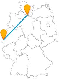 Die Reise mit dem Fernbus von Aachen nach Hamburg bringt Sie zu vielen, bekannten Attraktionen.