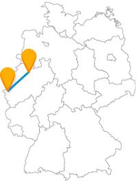 Nicht nur mit dem Fernbus zwischen Aachen und Münster machen Sie ein Fernreiseerlebnis, auch mit Ihren eigenen Füßen.