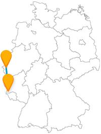 Der Fernbus von Aachen nach Trier führt Sie zu einer der besterhaltenen Sehenswürdigkeiten Deutschlands.