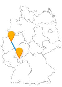 Erfahren Sie mit eine Reise im Fernbus Aschaffenburg Dortmund verschiedene Bauweisen im großen wie im kleinen Stil.