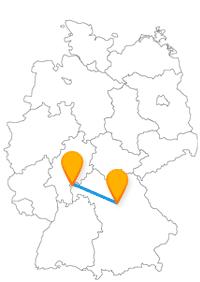 Mit dem Fernbus Aschaffenburg Nürnberg haben Sie entweder eine grüne Stadt oder eine Doppelburg zum Ziel.