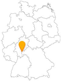 Der Fernbus in Aschaffenburg