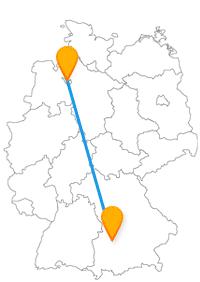 Wenn Sie ein Faible für Puppen und Statuen haben, setzen Sie sich am besten in den Fernbus Augsburg Bremen.