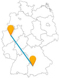 Ob Puppen oder Schulgeschichten, auch für Kinder ist auf der Reise mit dem Fernbus zwischen Augburg und Dortmund etwas dabei.