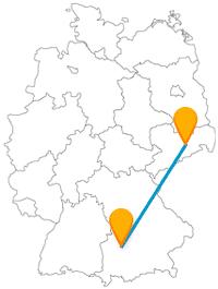 Die Reise mit dem Fernbus von Augsburg nach Dresden eröffnet Ihnen eine Besichtigung prunkvoller Sehenswürdigkeiten.