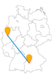 Museumsschau oder Shoppengehen, der Fernbus Augsburg Essen hält beides für Sie bereit.