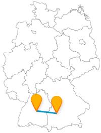 Besonders für shoppingbegeisterte Studenten ist die Fahrt mit dem Fernbus zwischen Augsburg und Metzingen lohnenswert.