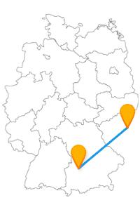 Lernen Sie auf Ihrer Fahrt mit dem Fernbus zwischen Augsburg und Prag geschichtsträchtige Bauten kennen.