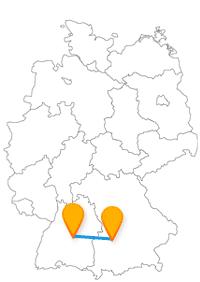 Reisen Sie mit dem Fernbus Augsburg - Reutlingen von Tor zu Tor.