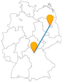 Entdecken Sie auf der Reise mit dem Fernbus von Bamberg nach Berlin berühmte und imposante Sehenswürdigkeiten.