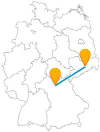 Fahren Sie mit dem Fernbus von Bamberg nach Dresden und haben Sie schöne Aussichten.