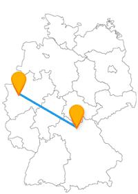 Shoppen gehen und Rosenduft genießen, eine Reise mit dem Fernbus Bamberg Düsseldorf macht es möglich.