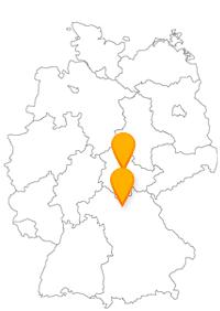 Nicht nur an Weihnachten lohnt sich eine Reise mit dem Fernbus Bamberg Erfurt.