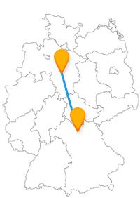 Auf Ihrer Reise im Fernbus Bamberg Hannover können Sie je nach Wetter viel Zeit draußen oder drinnen verbringen.