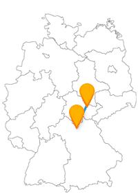 Nach der Reise mit dem Fernbus Bamberg Jena können Sie sich viel an der frischen Luft bewegen.