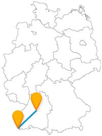Fernbus Basel Stuttgart