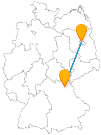 Ob Hofgarten oder Tierpark, die Reise mit dem Fernbus von Bayreuth nach Berlin ist spannend und entspannend zugleich.