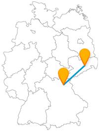 Auf der Reise im Fernbus zwischen Bayreuth und Dresden kann es musikalisch zugehen.