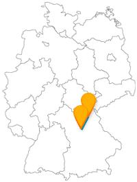 Die Reise mit dem Fernbus zwischen Bayreuth und Nürnberg ist vor allem historisch gesehen lohnenswert.