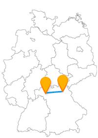 Der Fernbus von Bayreuth nach Würzburg ermöglicht Ihnen einen Besuch bei der Würzburger Residenz oder dem Alten Bayreuther Schloss.