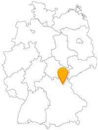 Der Fernbus Bayreuth ist mit dem Nahverkehr gut verknüpft.