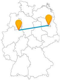 Mit dem Fernbus von Berlin nach Bielefeld kommen Sie vom Checkpoint Charlie direkt in den Teutoburger Wald.