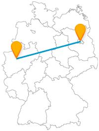 Besuchen Sie auf Ihrer Reise mit dem Fernbus zwischen Berlin und Bochum eine Siegessäule und ein Bermuda3eck.
